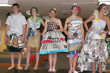 Paper or fashion?