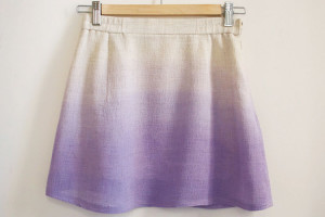 Dip dye skirt