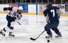 Men's hockey's work not done yet