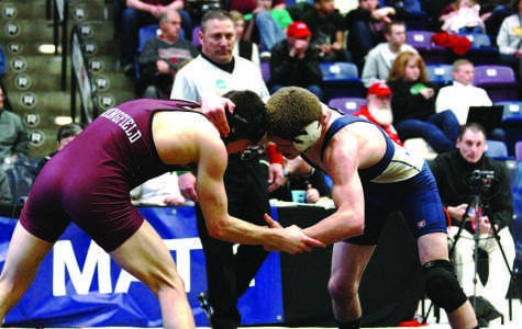 Blugold grappler Behnke takes fifth at Nationals