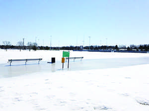 Winter weather delays spring sports