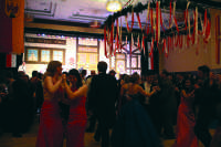 Students and faculty enjoy the festivities of the Viennese Ball Friday and Saturday night at W.R. Davies Center