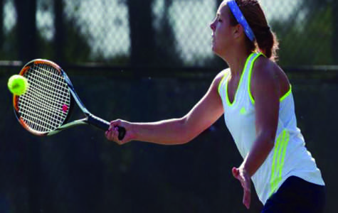 Women's tennis throttles Stout to start 2013 off on the right foot