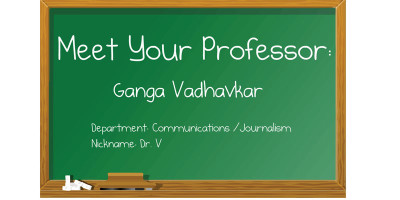 Meet your professor: Ganga Vadhavkar