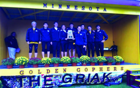 Men's cross country wins Griak Invitational