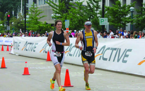 UW-Eau Claire students cross finish line