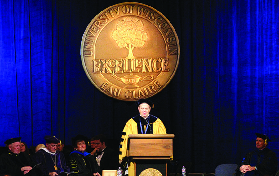 First-year chancellor officially inaugurated