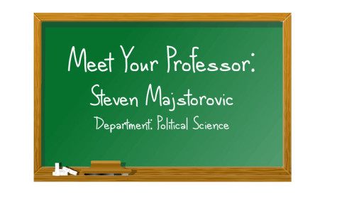 Meet your professor: Steven Majstorovic