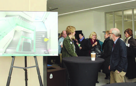 Centennial Hall dedicated; technology use highlighted