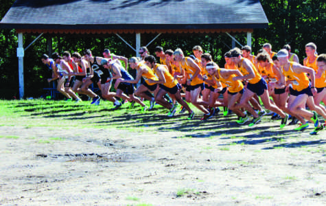 Cross country alumni return to compete against current runners