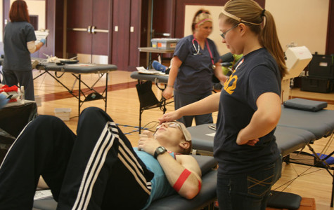 Alpha Phi Omega holds biannual blood drive