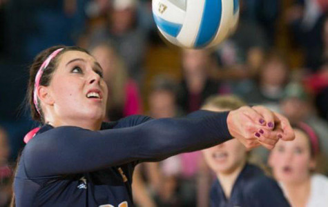 Volleyball's season ends with deciding set loss