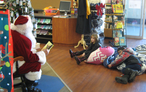 Santa visits campus to spread holiday cheer
