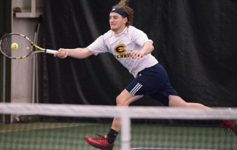 Men's Tennis team pulls out one victory in weekend filled with tough competition