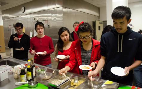 Students learn about Chinese culture through festivities in classes