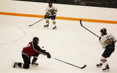 Reigning conference champions lose to UW-River Falls on penalty shot