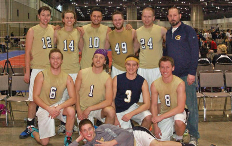 Men's club volleyball performs well at nationals