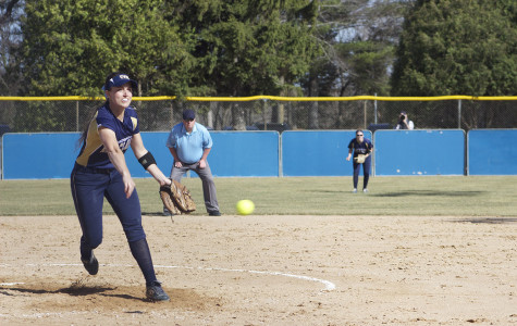 Blugold softball burns red hot against Blue Devils
