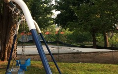 Outdoor fitness area underway for community use