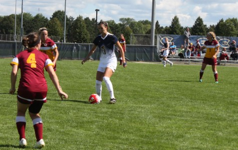 Women's soccer wins conference opener