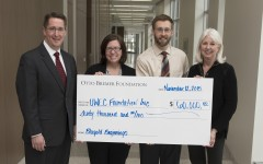 Blugold Beginnings receives the Otto Bremer Trust grant
