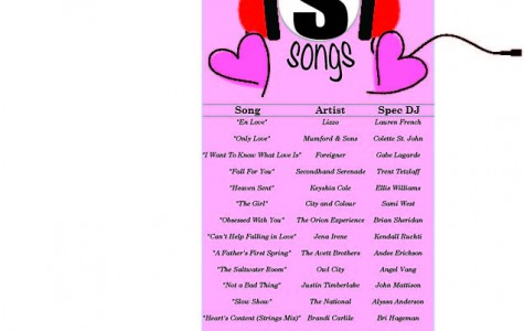 Staff Playlist: Favorite Love Songs
