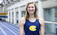 Sarah Glidden ranks as the number one pentathlete in the country while also breaking UW-Eau Claire Women's track records in the high jump and various other events