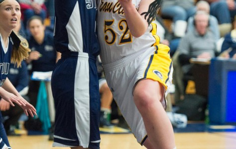 Sophomore transfer student is conference's leading scorer in first Blugold season