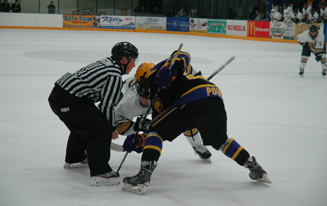 Men's hockey loses close one in conference semifinals