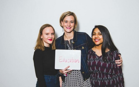 Student helped empower her high school with the Red Lip Project