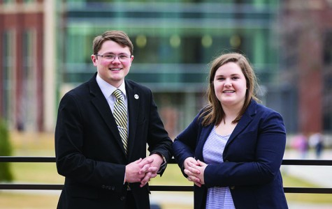 Student Senate presidential candidates debate as election nears