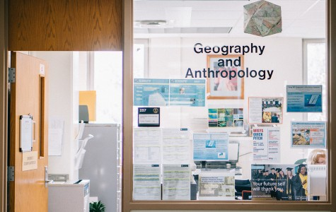 New major in department of geography and anthropology