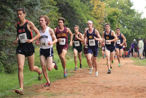 UW- Eau Claire's Cross Country team gets ready for first home meet