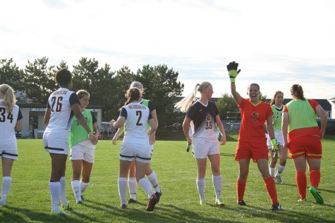 UW- Eau Claire Varsity Women's soccer team season update