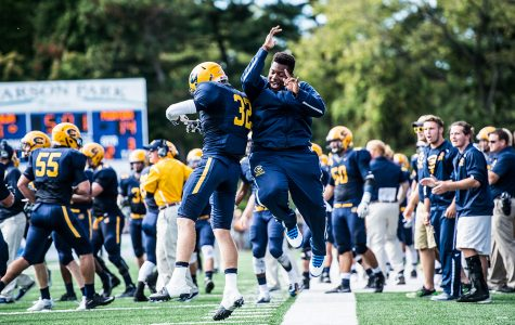 Blugolds score upset over the Eagles
