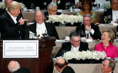 Light-hearted jokes become bitter insults at Al Smith Dinner