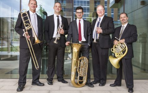 UW-Madison's Wisconsin Brass Quintet performed in Eau Claire