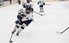 Women's hockey comes up short