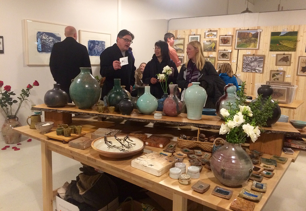 The Banbury Art Crawl provided a place for people to gather and appreciate handmade art, from pottery to paintings and more.