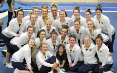 Women's gymnastics falls short