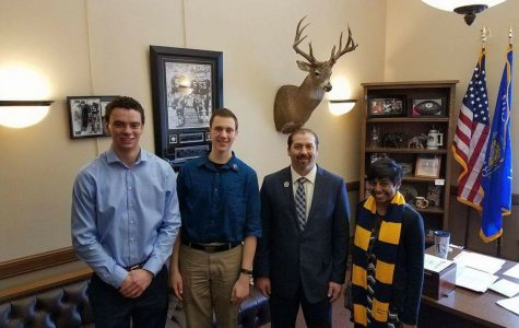 UW-Eau Claire students lobby for student interests with legislators
