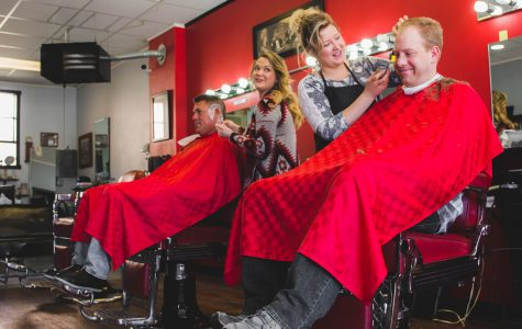 Local barbershop credits good business partly to female staff