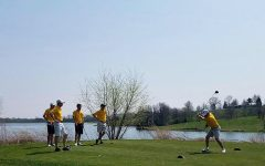 UW-Eau Claire men's golf team placed fourth at the Augustana Invitational