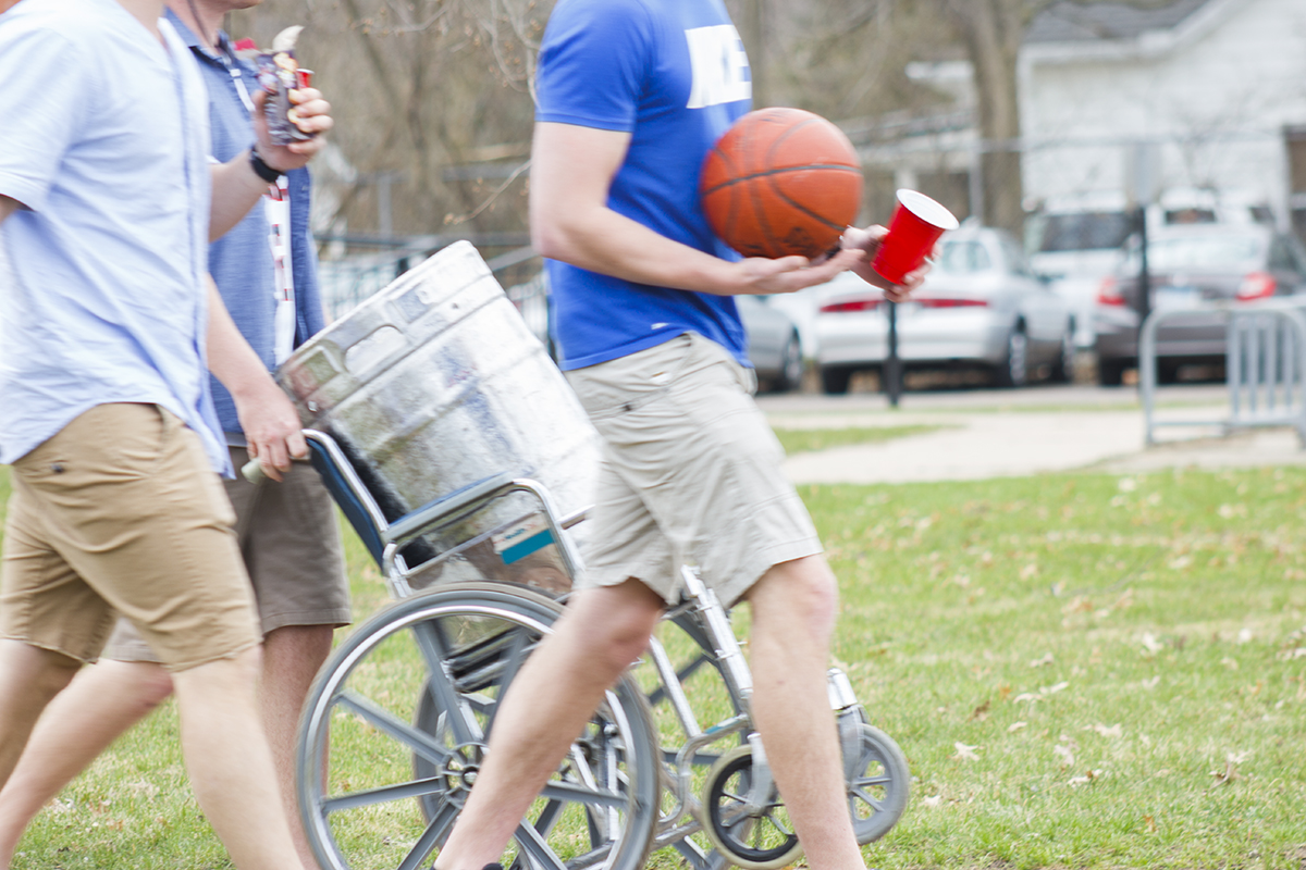 With the warm weather that hit Eau Claire last weekend came a rise in high-risk drinking and loud partying for some students. Eau Claire County ranked second worst in the state for binge drinking, according to a recent study by UW Health.