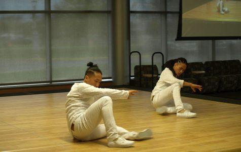 The Twinjaz breakdance into Eau Claire