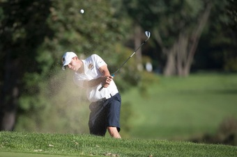 Throughout the Blugold men's golf season, Eau Claire achieved several team and individual titles.
