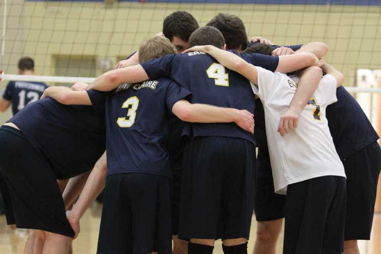 Men's volleyball club recap