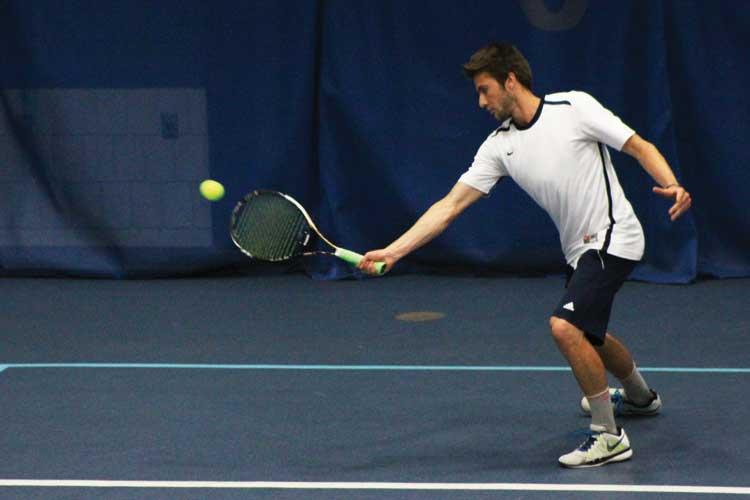 Men's tennis bounces back