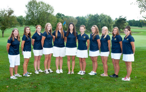 Women golfers play top teams in country