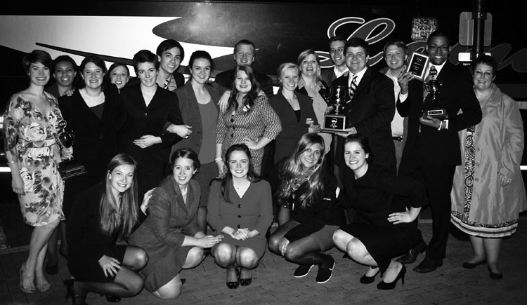 Forensics team nets two top 15 finishes